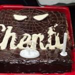 The Chenti's spider cake !
