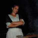 Au tour de Béa de s'occuper du BBQ