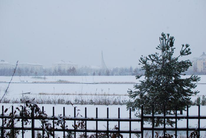 Neige à Bussy