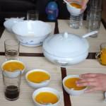 Trop bonne cette petite soupe carotte/coco