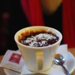 Un bon chocolat/coco au Caffé San Marco