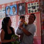Avec Papa et maman