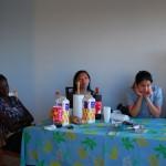 Bintou, Bridget et Palinouche
