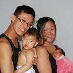 La famille, heureuse, au complet !
