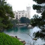 Vue sur le Chateau de Miramare