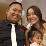Kou, Kelly et leur fille