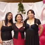 Brigitte, Suzanne et Choua