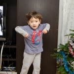 Chenti est content alors il danse !