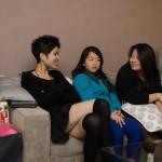 Discution entre filles