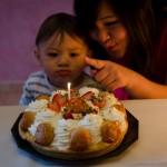 Et oui, Chenti s'entraine pour son anniversaire qui arrive.