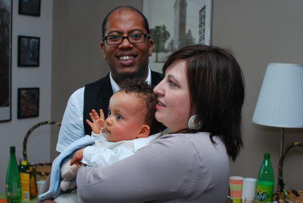 Raphaël et ses parents