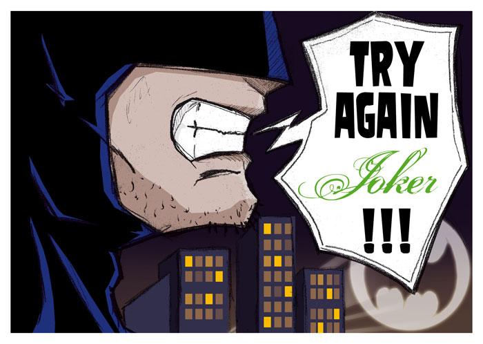 Batman AA tribute by Dreeks