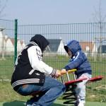 Père et fils have fun