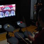 Supaseb on drums