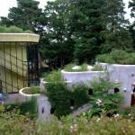 Le musée est intégré à la nature.