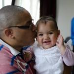 Papa et sa Kalya d'amour
