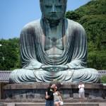 Devant le Big Bouddha