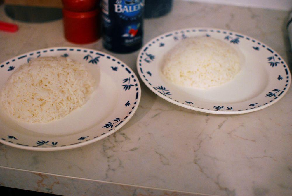 Présentez le riz