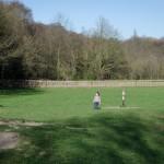 Shy Chenti in the Kid's playground