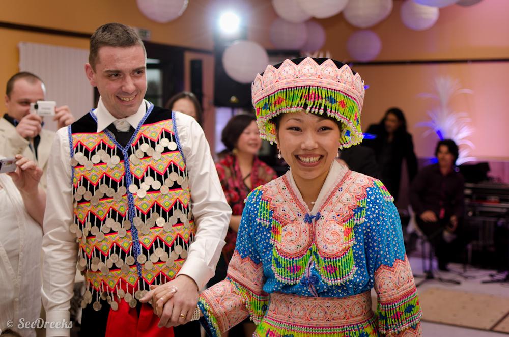 Anthony et Lise en Hmong