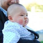 Bébé marqué au rouge de tata Tsi
