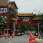 The Chinatown... enfin street !