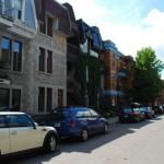 Aaah les petites ruelle anglaises... ah non ! merde, c'est vrai, on est à Montréal