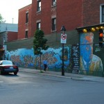 Wall Painting - Rue Mont-Royal