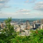 Montreal vue du Mont Royal