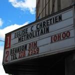 Eglise dans un vieux cinéma ??!!!