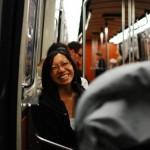 Dans le metro !