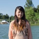 Olivia au lac
