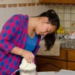 Amélie's cooking