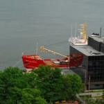 Port vue du Vieux Québec