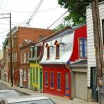 Portobello Road ? non une rue du Vieux-Québec.