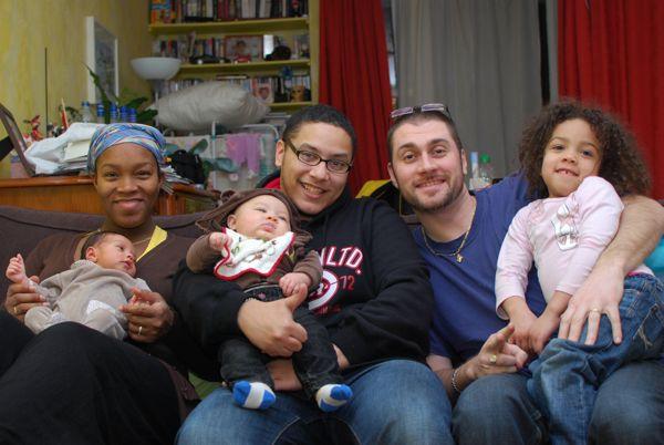 Chenti, papa et la famille MnMs