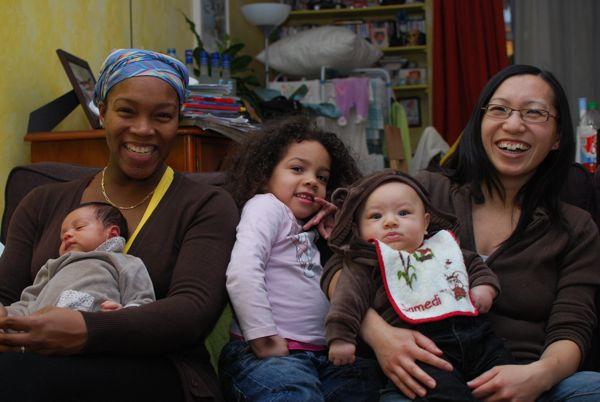 Chenti, Maman et les filles du MnM's clan !
