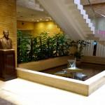 L'entrée de notre Hotel (le Shiba Park Hotel)
