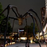 """L'araignée """"maman"""" de Roppongi Hills de Louise Bourgeois"""