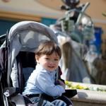 Un des rares sourires de Chenti à Disney